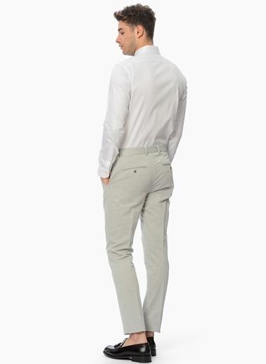 Uzun Kollu Slim Fit Gömlek-Network